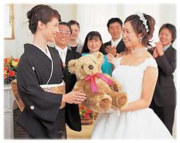 結婚式にご利用のお客様