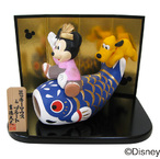 ディズニー 五月人形(ミッキー&プルート)