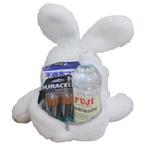 体重ドール 防災アニマル(ウサギ)名入れ刺繍